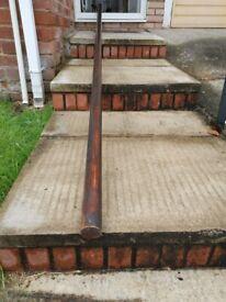 Traditional Wood Handrail