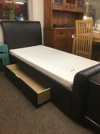 Single Sleigh bed * free furniture delivery*