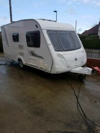 "2 BERTH SWIFT CHARISMA 230 2009 TOURING CARAVAN. MOTOR MOVER "" VERY NICE"