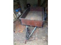 Wooden trailer 6'×4' for sale