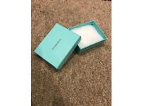 Genuine Tiffany box 9.5x8cm