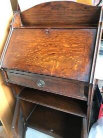 Oak bureau 1930s