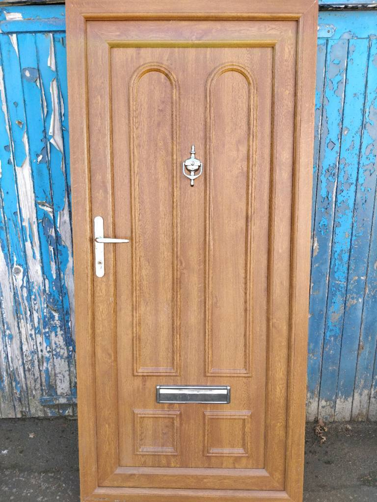 Light brown upvc door | in East Kilbride, Glasgow | Gumtree on