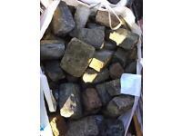 Granite sets edging curbs cobbles