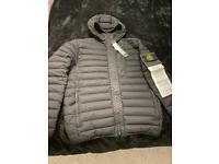 Stone island loom wovan puffer jacket bnwt