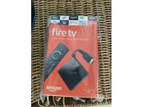 Amazon Fire 4k stick new