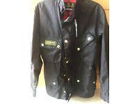 Men's large Barbour International jacket