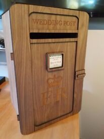 Wedding Card Wooden Post Box