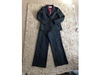 Womens size 12 black blazer and trousers suit from Amaranto