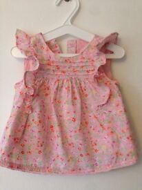 Next: Pink Floral Summer Top (Baby Girl).