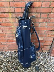 Ladies golf bag and four clubs