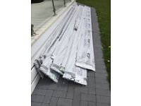 5M x 333mm Fortex Double Shiplap Storm Grey (Cladding for building)