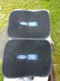 Ford RS rear mats