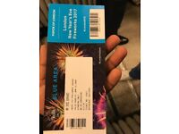 there is limited tickets for New eve Blue pass front of London eye new year fireworks
