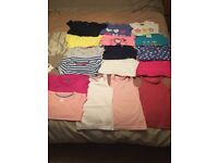 Girls age 3-4 t shirts and vest tops