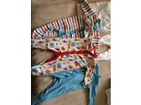 Baby Boy Clothes bundle Sleepsuits nutmeg George 3-6 months