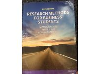 Research Methods for Business Students - Sixth Edition