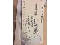 Ticket for The Who Friday, April 7, 2017,. The SSE Hydro Anybody