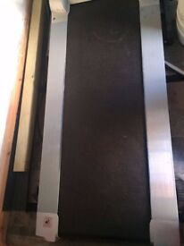Treadmill and cross trainer hardly used almost new condition both electric quick sale