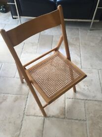 Habitat foldiing wooden chair