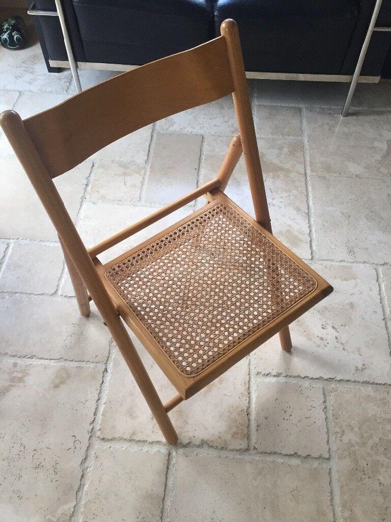Habitat foldiing wooden chair