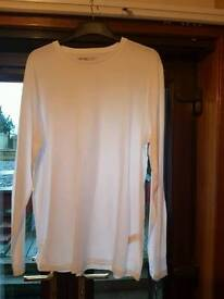 Mens white top