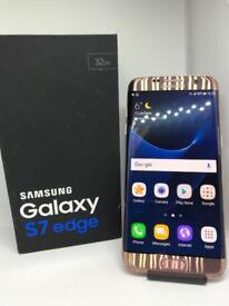 Samsung S7 Edge Rose Gold Unlocked
