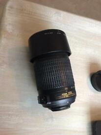 Nikon 55 - 200 mm lens