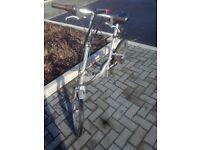 folding bike. D-lock included