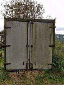 20 foot container box