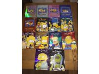 The Simpsons DVD Box Sets Collectors Series 1 To 14