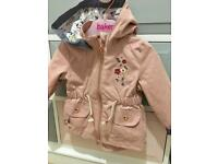 Tu Girl light jacket 3-6 months
