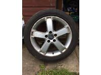"Single 17"" ford alloy wheel"