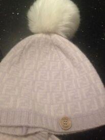 Fendi hat & scarf
