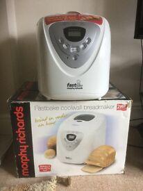 Morphy Richards fastbake bread maker