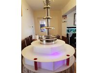 "Commercial Chocolate Fountain cf2000 like Sephra Giles & Posner sephra Surround choice 34"" & 44"""