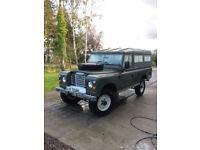 Land Rover 109 diesel 1973 tax free
