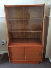 DISPLAY CABINET 1950'S LOVELEY CONDITION