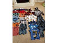 Boys 12-18 & 18-24 months baby clothes bundle