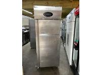 Tefcold 650 Litre Stainless steel Commercial Fridge / Chiller- For Shop / Kitchen