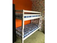 White Pine Bunk Beds (with mattresses if required) £120 ono