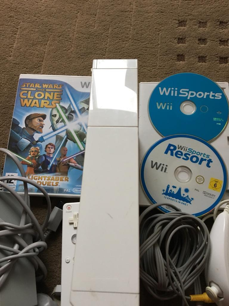 Wii consoles and games