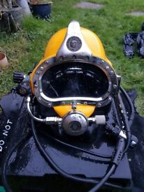 KMB 27 & KMB 18 Commercial Diving Hat