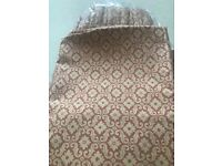 LAURA ASHLEY CURTAINS IN SITWELL BRICK FABRIC