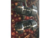 BODY MAX adjustable dumbells