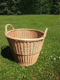 Large basket with handles
