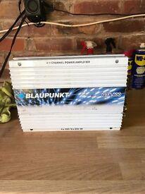 Blaupunkt 4/2 Channel Amp