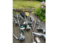 Titan strimmer hedge cutter multi tools spares or repairs