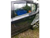 Astra h rear passanger door 20r black