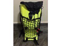 Boblbee Megalopolis Aero Hard Shell Neon Motorbike Spine Protector Backpack